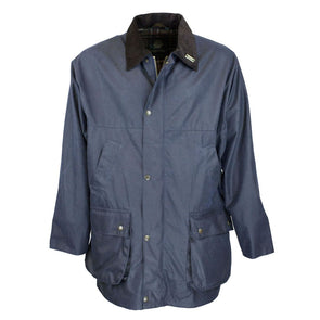 Countryman Waxed Cotton Jacket | Navy