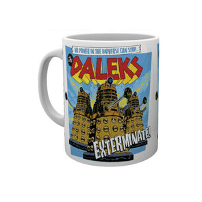 "Doctor Who Mug | Daleks ""Exterminate!"""