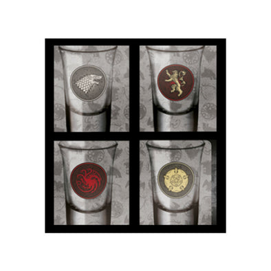 Game of Thrones Shot Glasses | Set of 4