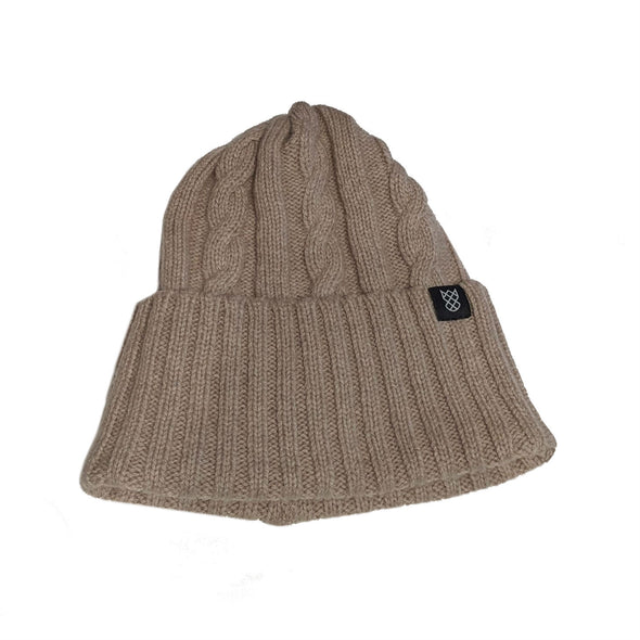 Cashmere Cable Knit Hat | Unisex