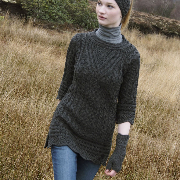 Aran Arm Warmers