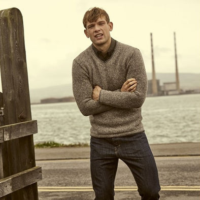 Duncannon Wool & Cashmere V-Neck Sweater