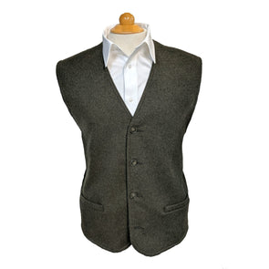 Men's Pure Wool Unstructured Vest