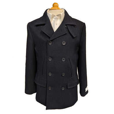 Men's Harris Tweed Peacoat