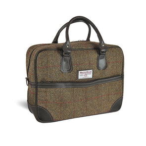 Harris Tweed & Leather Arran Briefcase