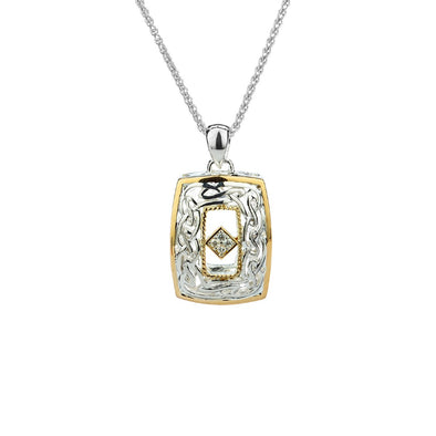 Diamond Window to the Soul Pendant
