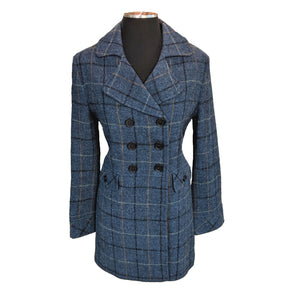 Goldie Harris Tweed Overcoat