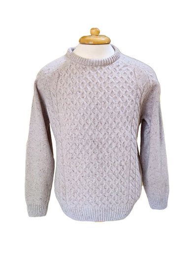 Donegal Lambswool Blend Sweater