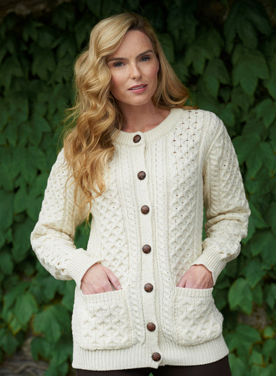 Curragh Traditional Lumber Cardigan