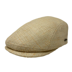 Sandston Straw Flat Cap