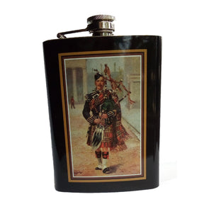 Bagpiper Flask