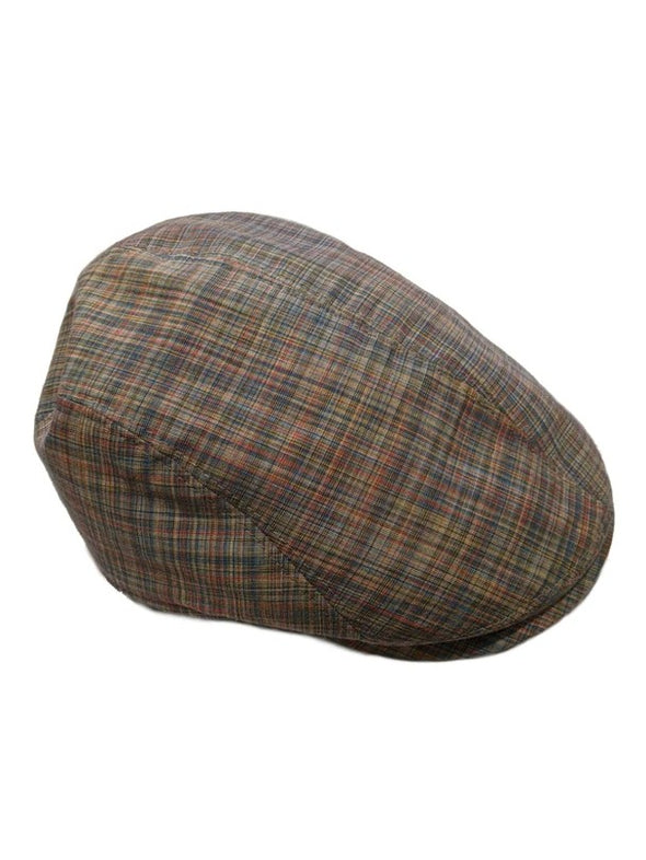 Jackson Cotton & Linen Driving Cap
