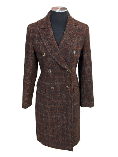 Melody Women's Harris Tweed Overcoat