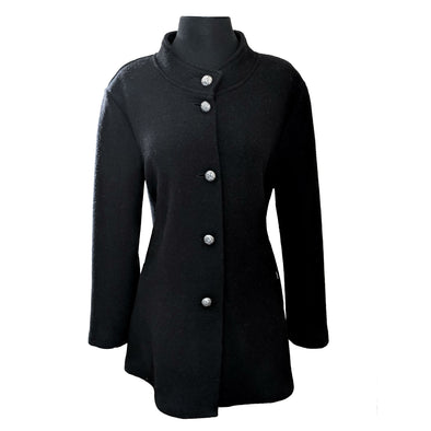 "Geiger ""A-Line"" Boiled Wool Car Coat"