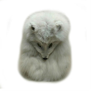 Arctic Fox Full-Mask Sporran