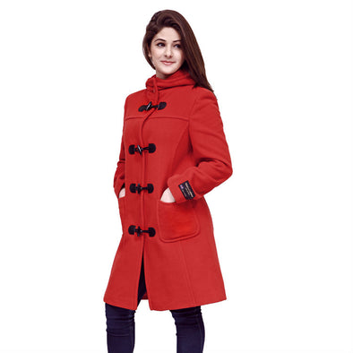 Wool & Cashmere Duffle Coat from Eliz Scott