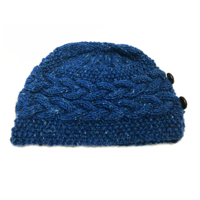 Handmade Merino Wool Cable Knit Hat
