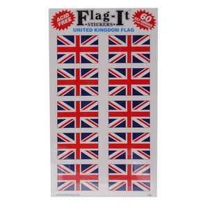Union Jack Stickers | Pack of 60