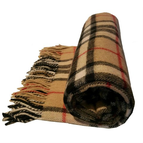 Tartan Blanket from Ingles Buchan of Scotland — [ 3 Tartan Options ]