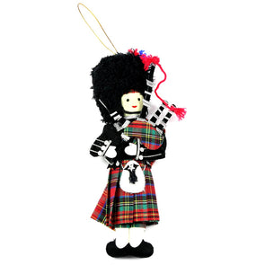 Scottish Highland Piper Ornament