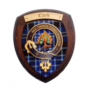 Handmade Clan Crest Wall Plaque | Small