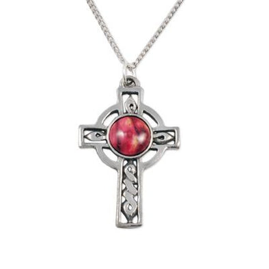 Heathergem Cross Necklace