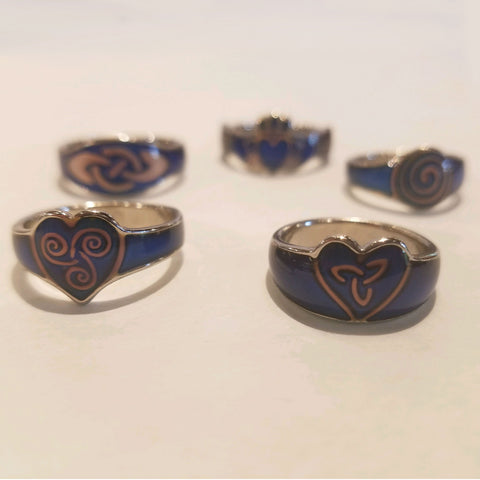 Color-Changing Celtic Mood Ring