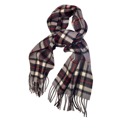 Brushed Wool Tartan Scarf — [ 18 Tartans ] — Scotland House, Ltd.