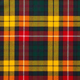 Buchanan Modern Tartan — Scottish Worsted Wool Scarf