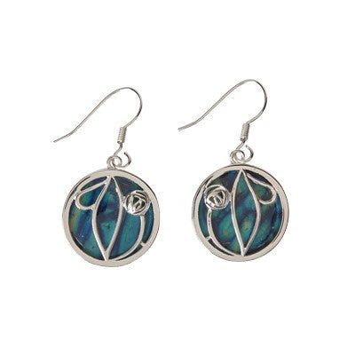 Heathergem Mackintosh Rose Earrings — Scotland House, Ltd.