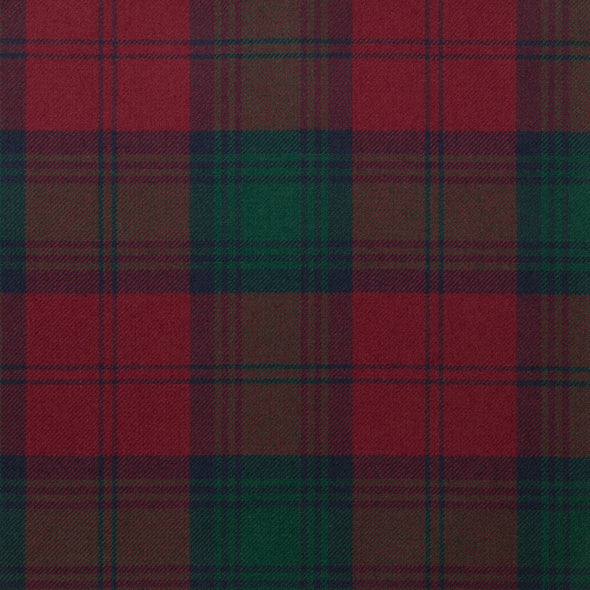 Lindsay Modern Tartan — Scottish Worsted Wool Scarf