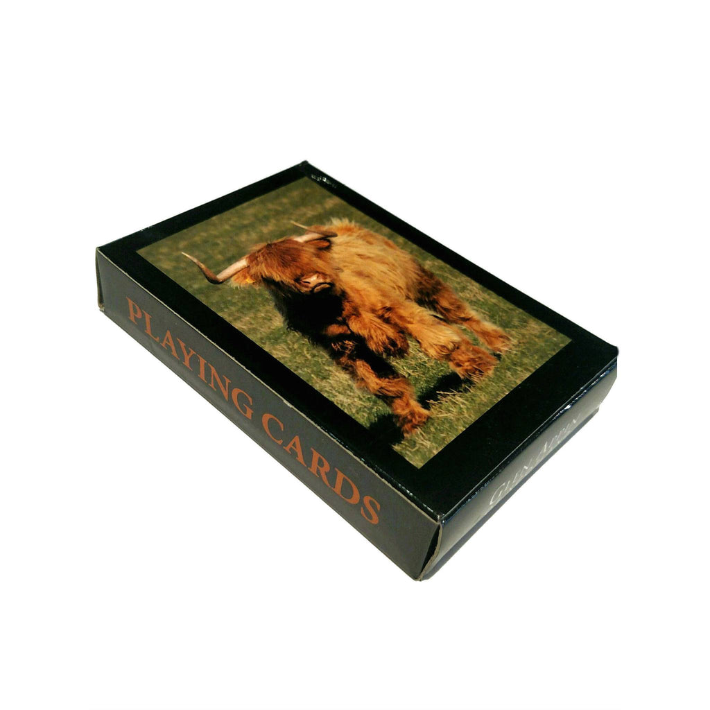 Highland Cow Playing Cards — Scotland House, Ltd.