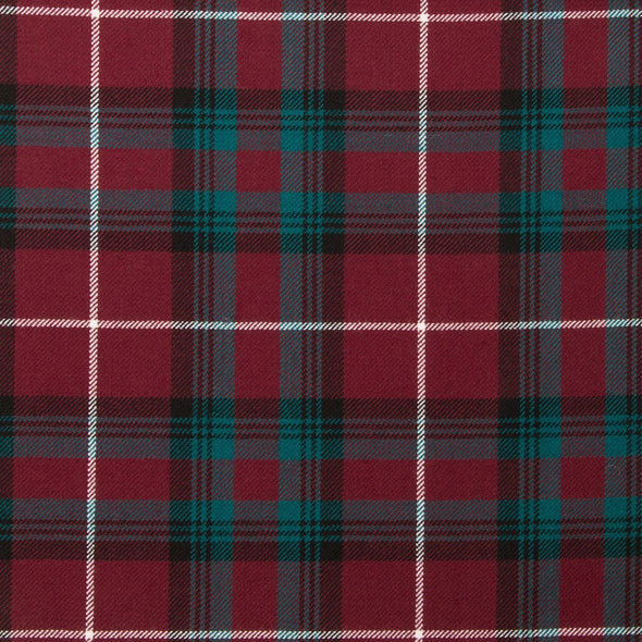 Stuart of Bute Modern Tartan — Scottish Worsted Wool Scarf