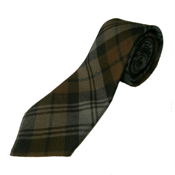 Wool Tartan Neckties | Weathered Colors — [ 17 Tartans ]