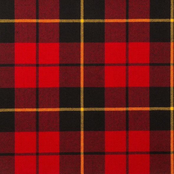 Wallace Modern Tartan — Scottish Worsted Wool Scarf
