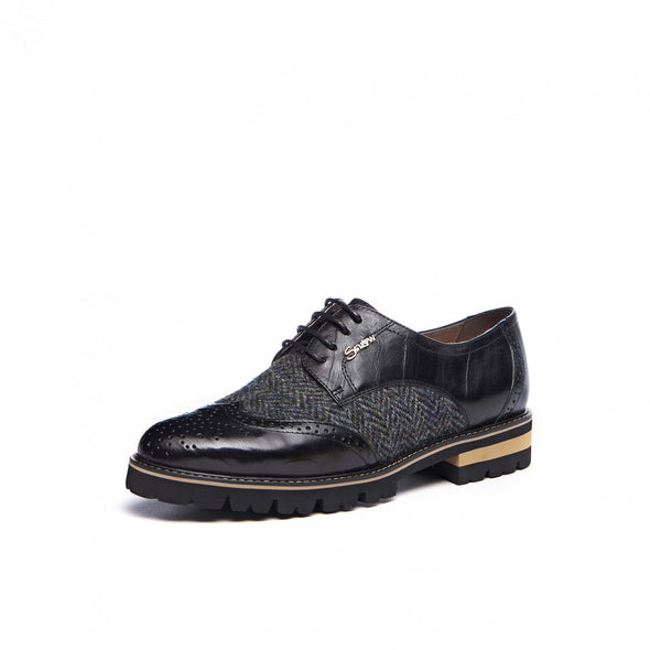 Women's Harris Tweed Brogues