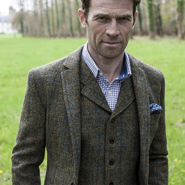 """Sumburgh"" Harris Tweed Jacket"