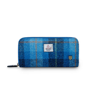 Women's Harris Tweed Long Wallet
