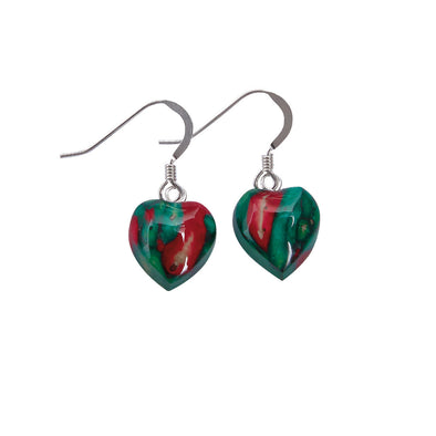 Heathergems Heart Earrings