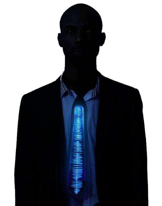 Equalizer LED Tie Sound Activated - Kandi