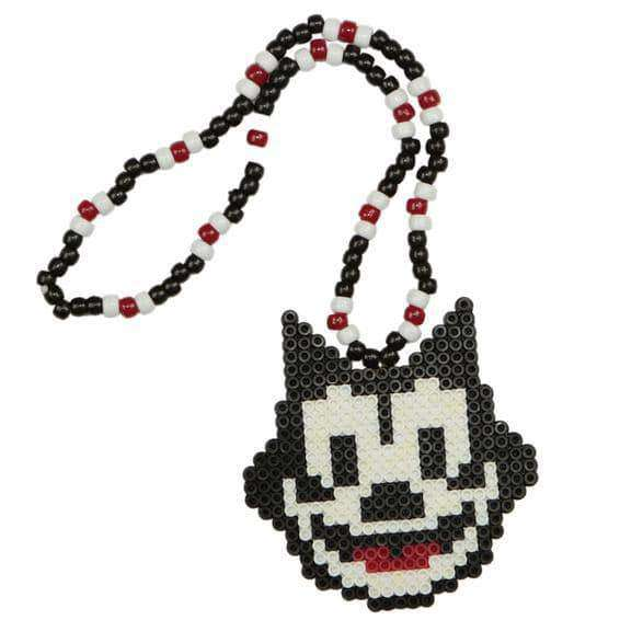 Felix The Cat Kandi Necklace - Kandi Gear