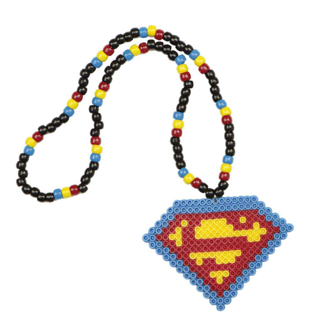 Superman Kandi Necklace - Kandi Gear
