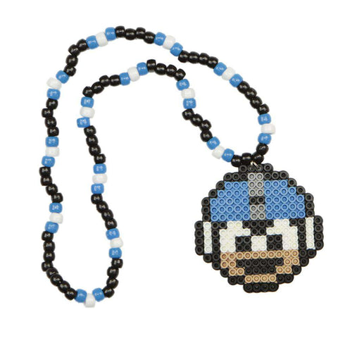 Cookie Monster Kandi Necklace