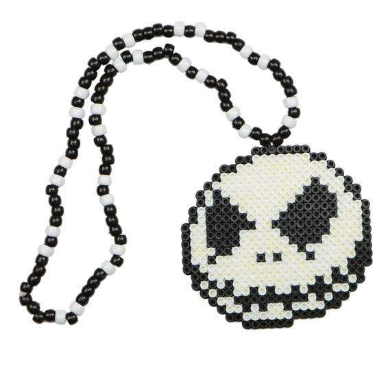 Jack the Skeleton Kandi Necklace - Kandi Gear