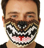Brown Wolf Kandi Mask - Kandi Gear