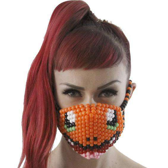 Charmander Pokemon Kandi Mask Surgical - Kandi Gear