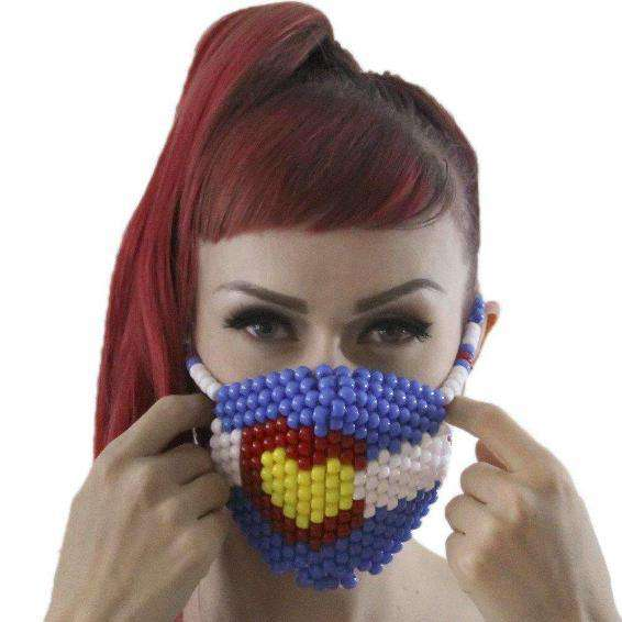 Colorado Love Kandi Mask Surgical by Kandi Gear - Kandi