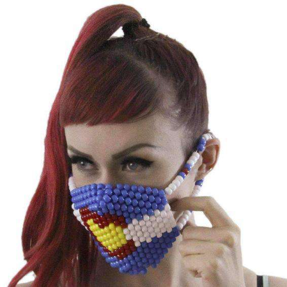 Colorado Love Kandi Mask Surgical by Kandi Gear