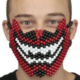 Demon Devil Teeth Face Full Kandi Mask - Kandi Gear
