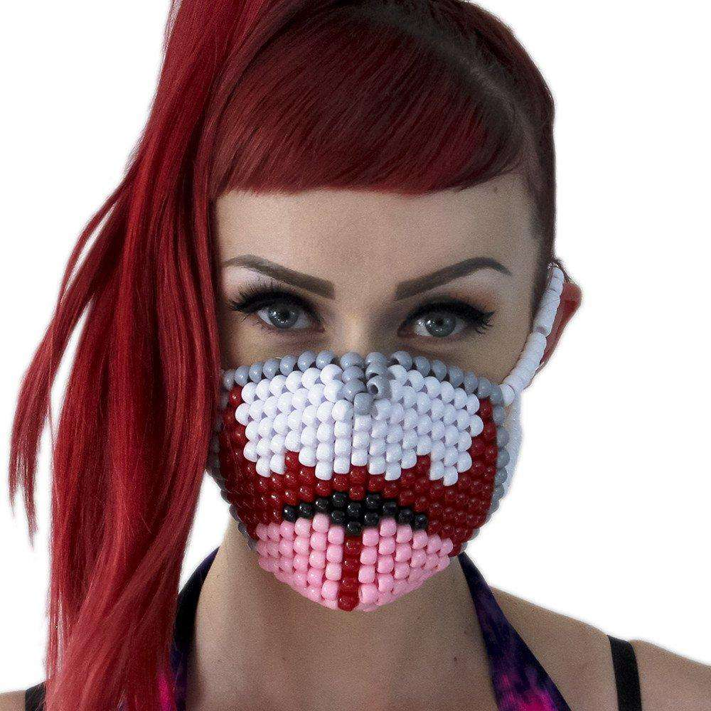 Open Wide Mouth Kandi Mask - Kandi